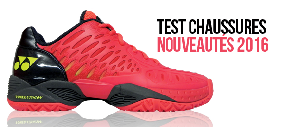 test chaussures tennis 2016