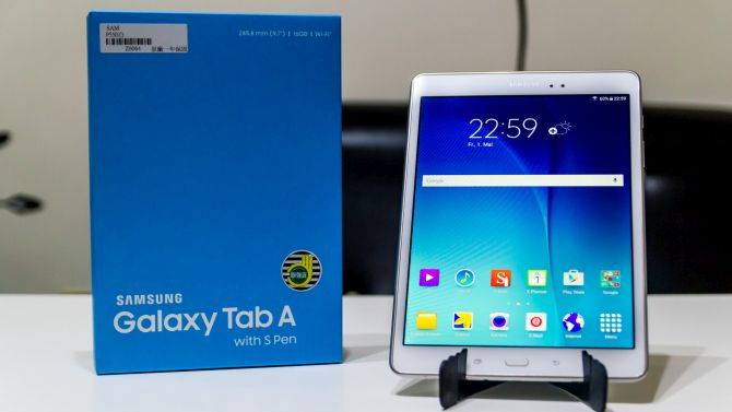 test galaxy tab a