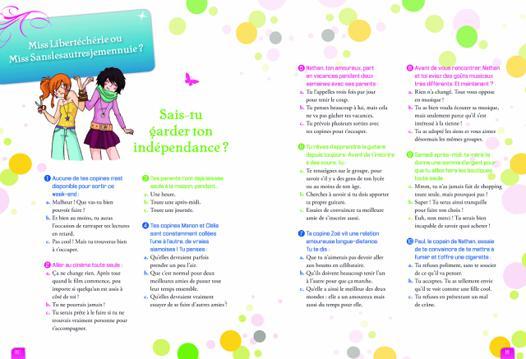 test gratuit pour fille