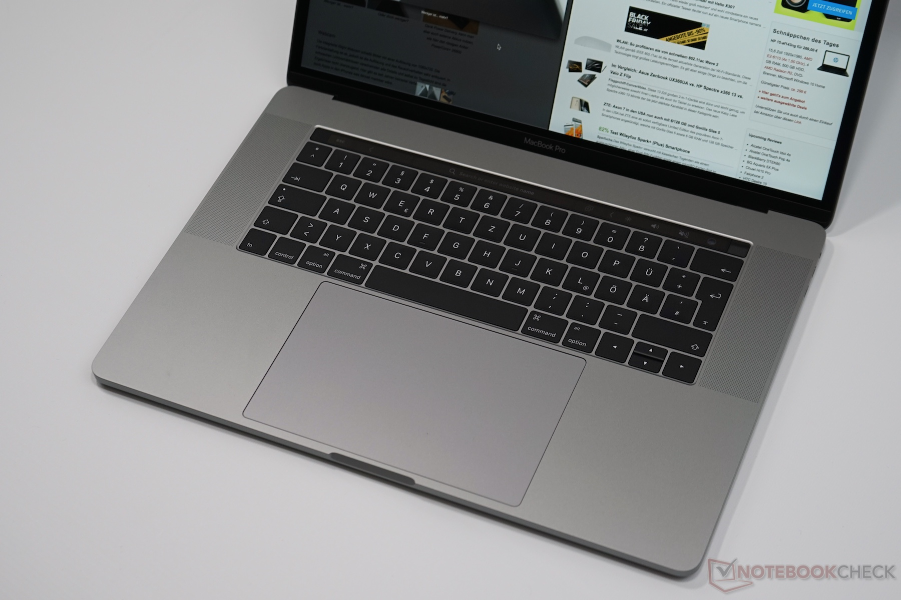 test macbook pro 15