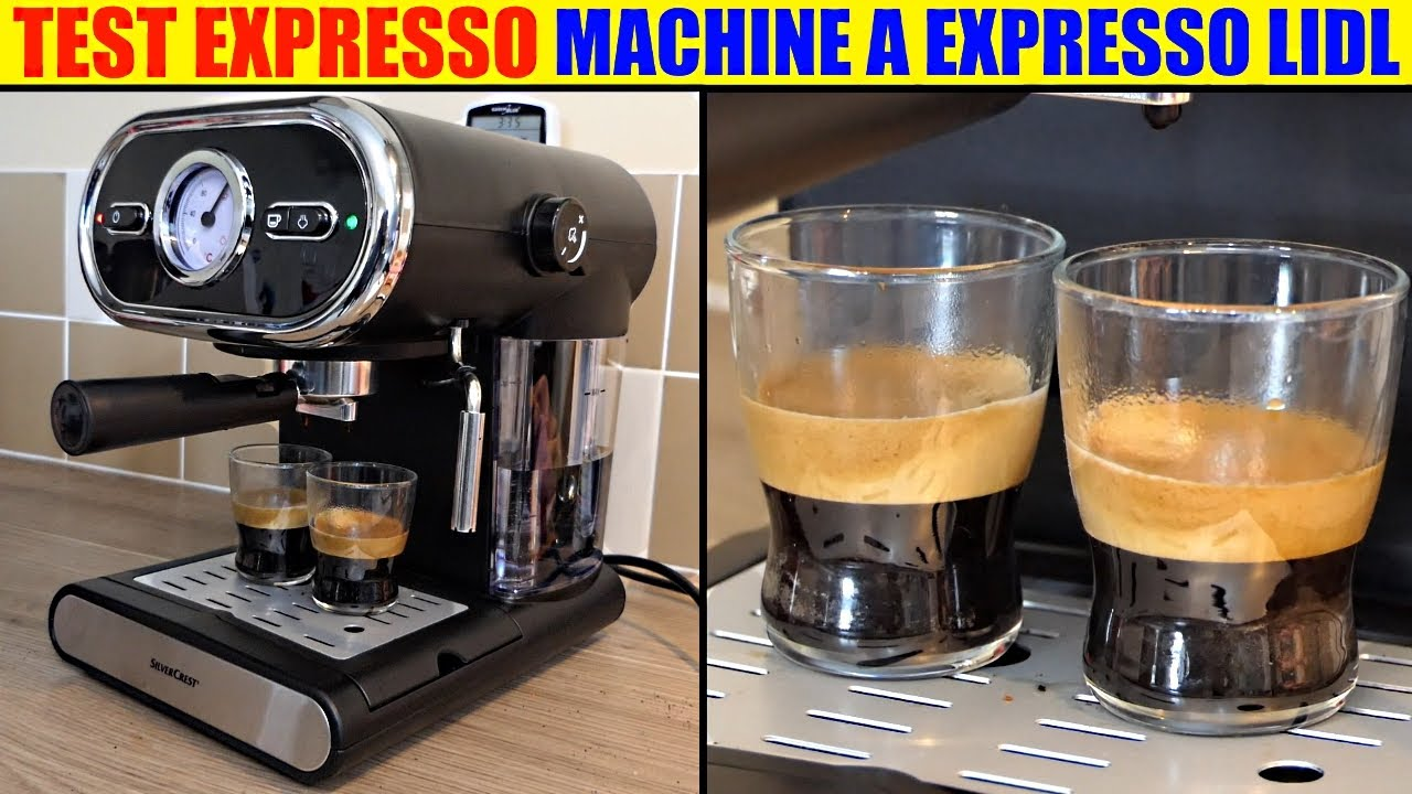 test machine expresso