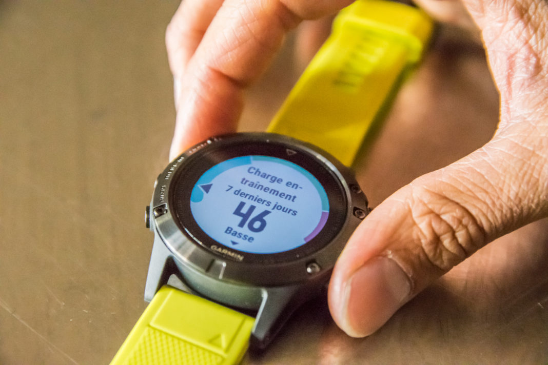 test montre garmin