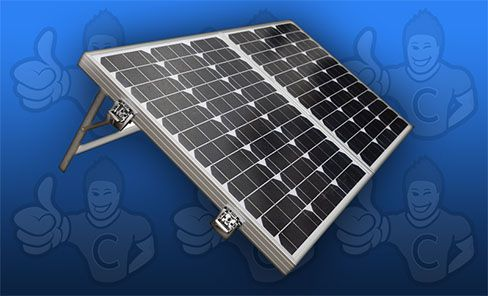 test panneau solaire