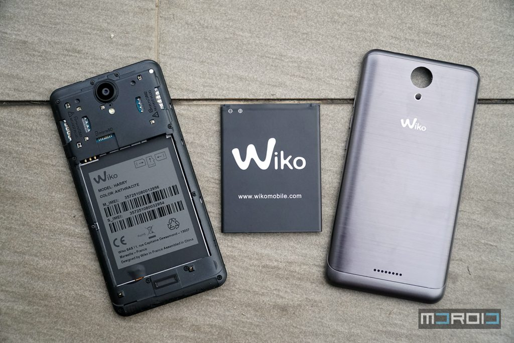 test wiko harry