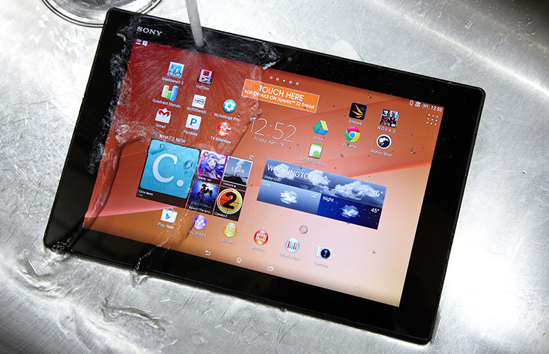 test xperia z2 tablet