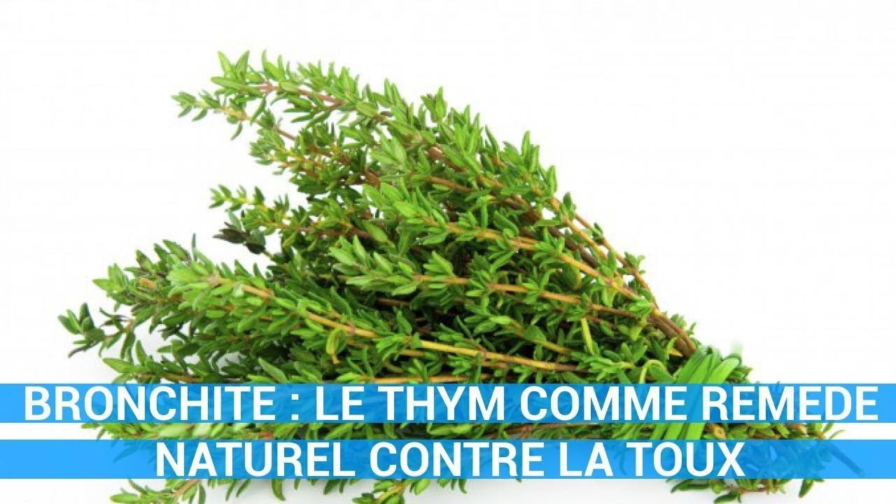 thym bronchite