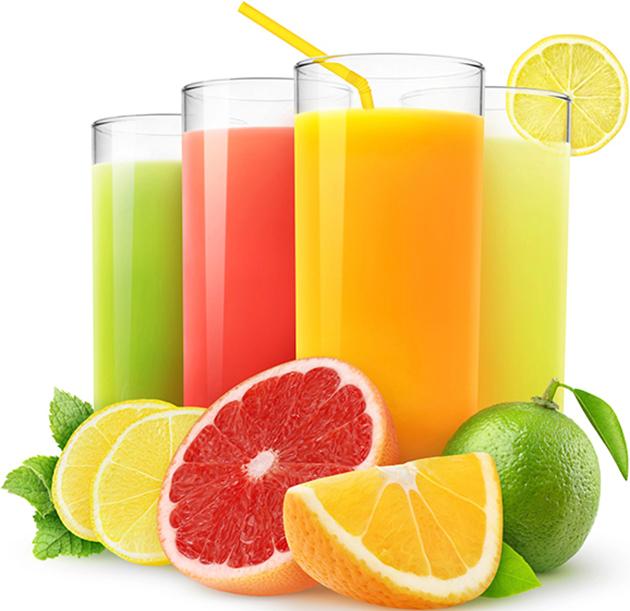 un jus de fruit