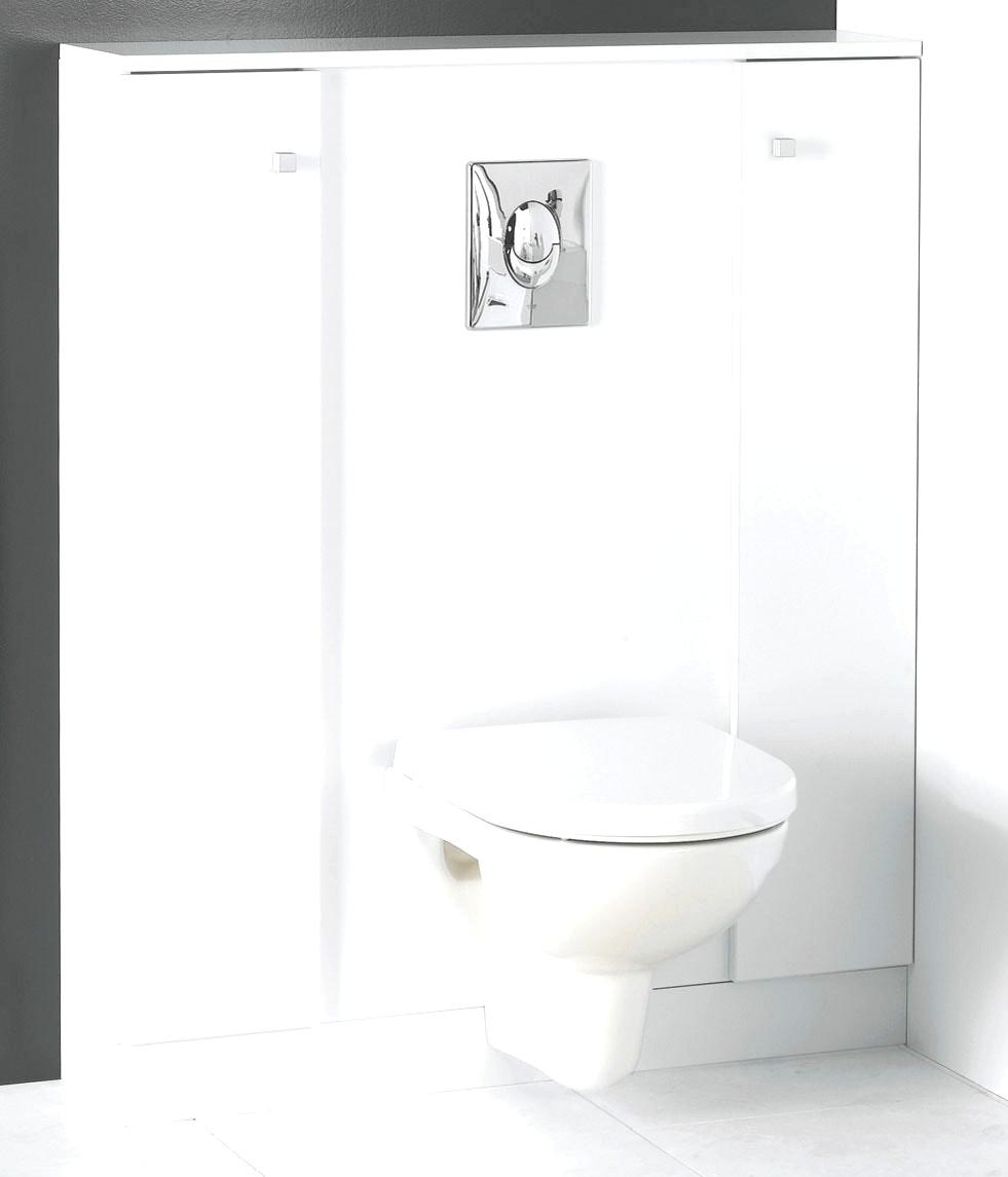 wc suspendu avec meuble