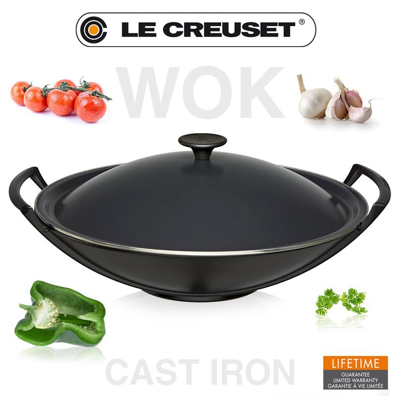 wok le creuset